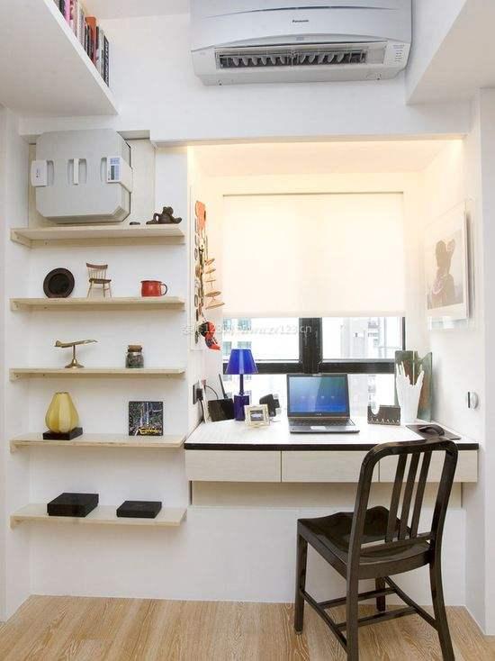飄窗書桌裝修效果圖大全,飄窗書桌設計要點和技巧